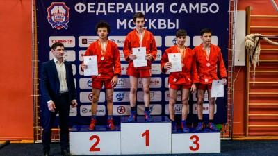 Первенство Москвы 2021 года по самбо среди юношей и девушек 14-16 лет (20-21 марта 2021 года)