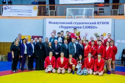 Межвузовский студенческий кубок «Территория Самбо» (11декабря 2019года, СТАНКИН)