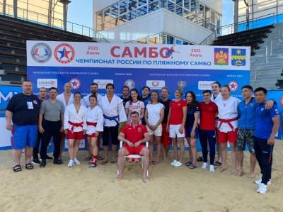 Чемпионат России по пляжному самбо (Анапа, 12-13 июня 2021 года)