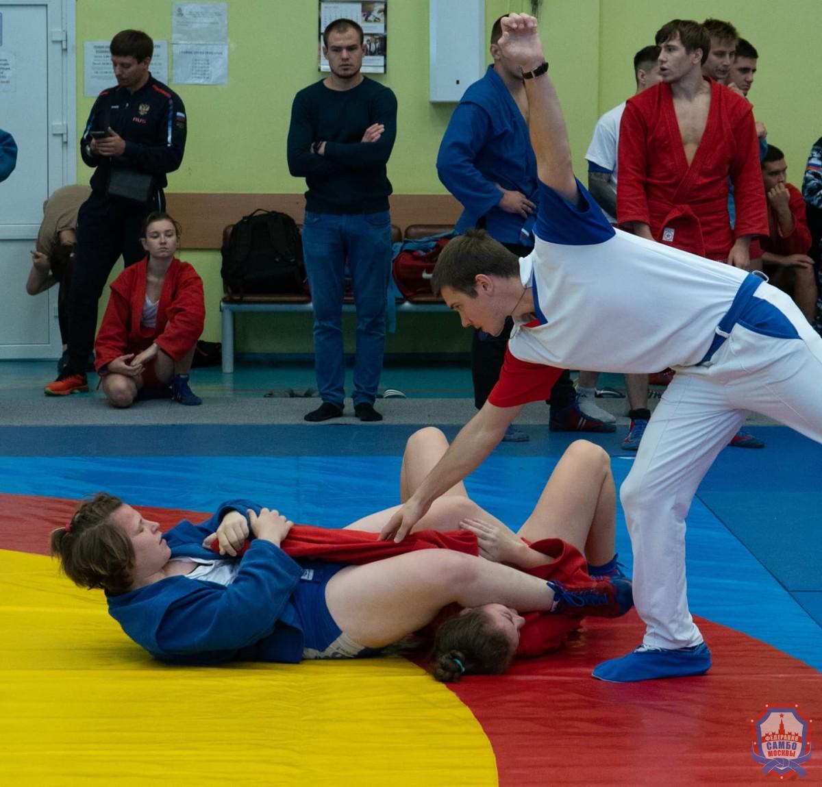 Первенство Москвы по самбо среди юниоров и юниорок до 24 лет