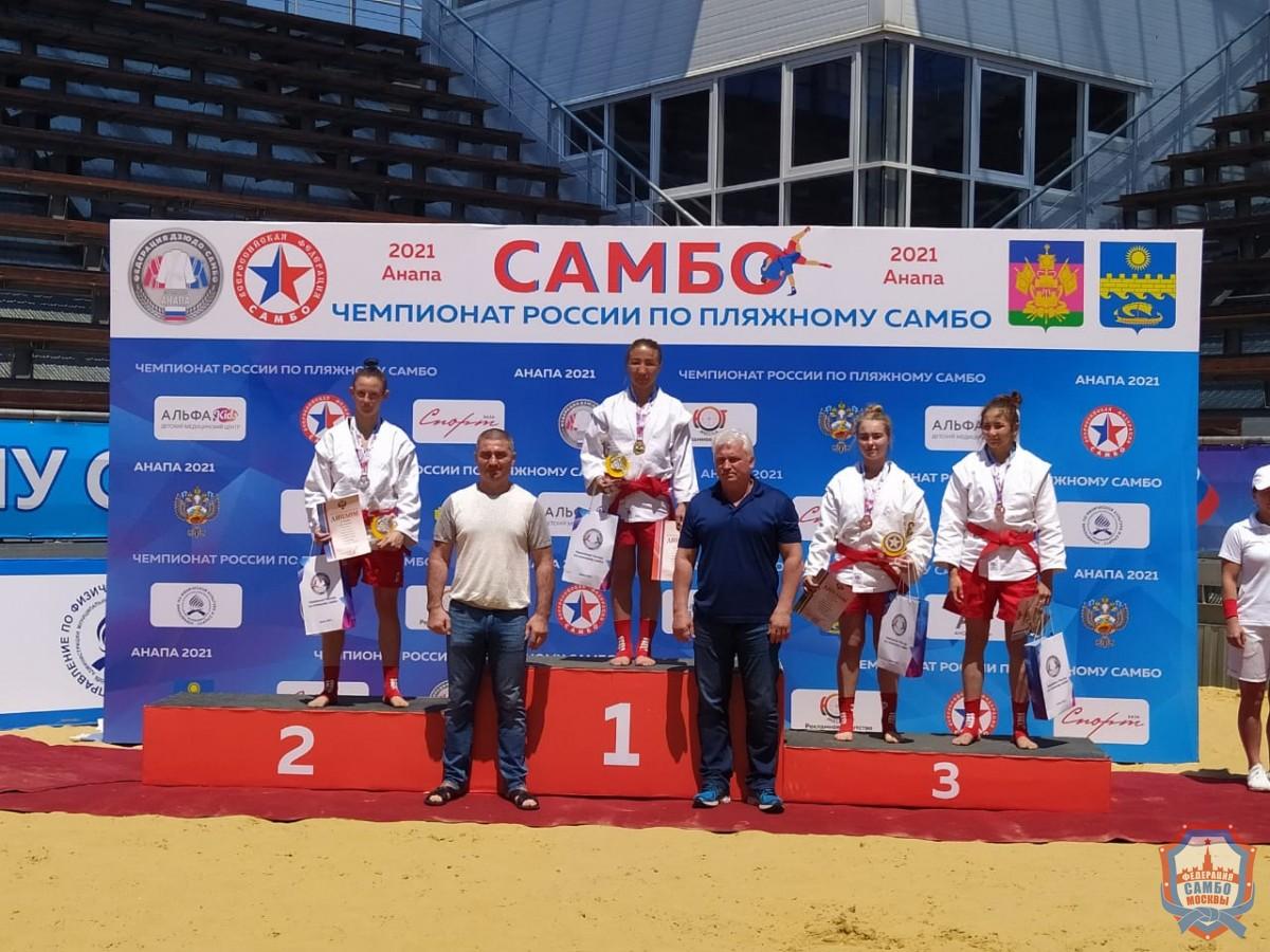 Первый в истории Чемпионат России по пляжному самбо прошел в Анапе