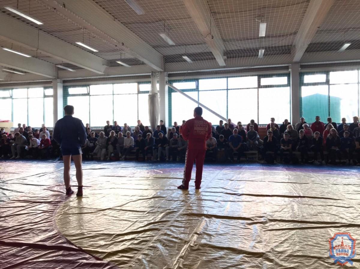 Судейский семинар прошел в ФОК «Борец» Москомспорта