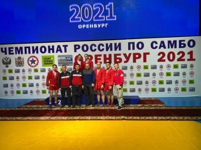 """20 медалей завоевали спортсмены """"Самбо-70"""" на Чемпионате России по самбо 2021 года"""