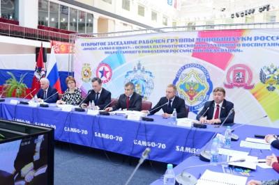 Заседание рабочей группы Минобрнауки РФ: «Проект «Самбо вшколу»