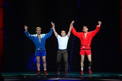 XIV Церемония вручения национальной премии в области боевых искусств «Золотой Пояс» прошла в Москве