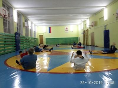 Врамках проекта «Самбо вшколу» возобновил свою работу клубим. А.А.Харлампиева
