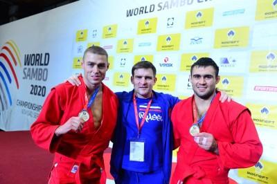Московские самбисты на мировом первенстве завоевали 4 золотые медали